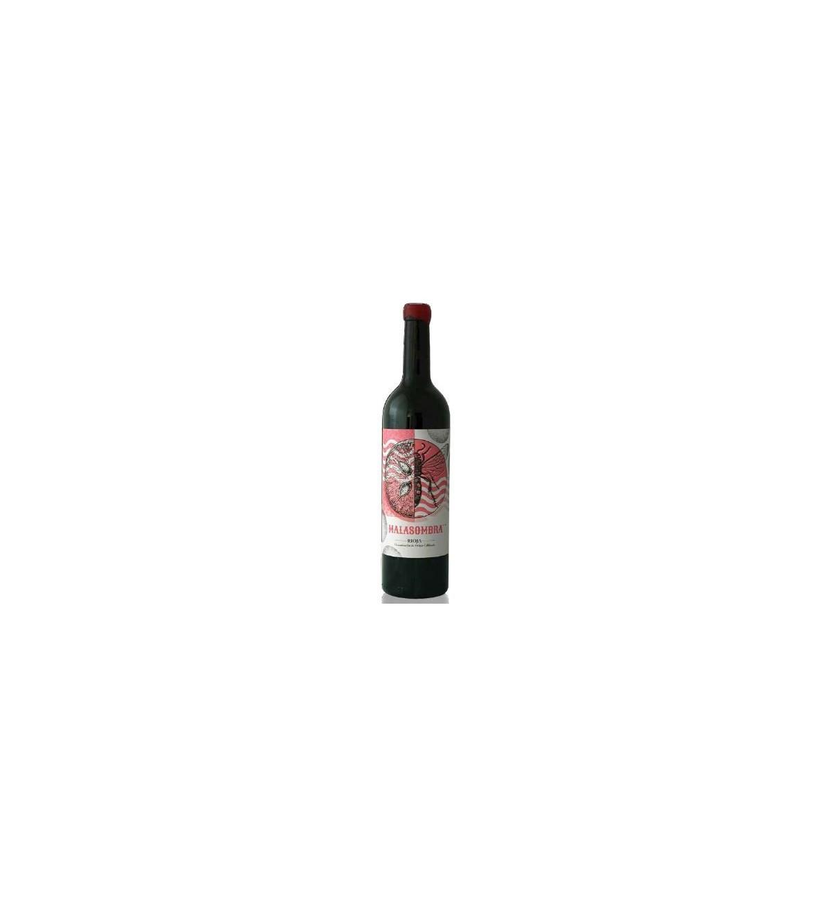 Malasombra 2017 - LMT wines - Garnatxa, viñas viejas, Rioja