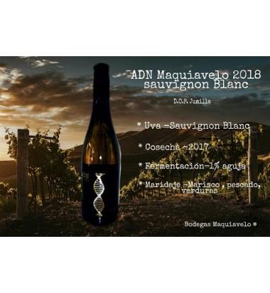 ADN Maquiavelo Sauvignon Blanc 2019 *  Jumilla, vino blanco