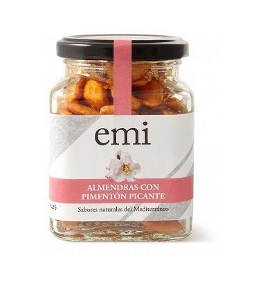 Almendras saladas fritas con Pimentón Picante EMI - Viña Elena - Jumilla - Aperitivo