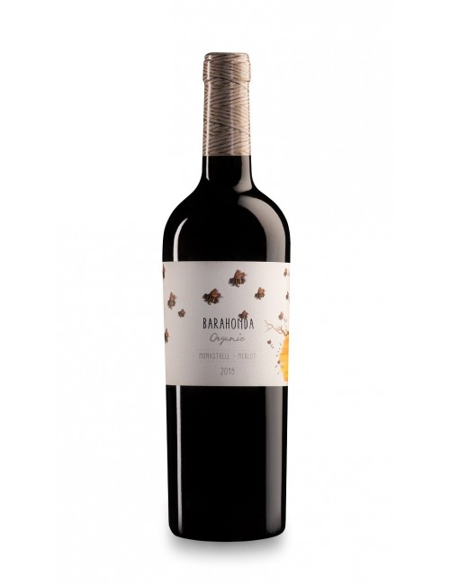 Barahonda Organic 2018 * Monastrell, Merlot, Yecla, Vino tinto
