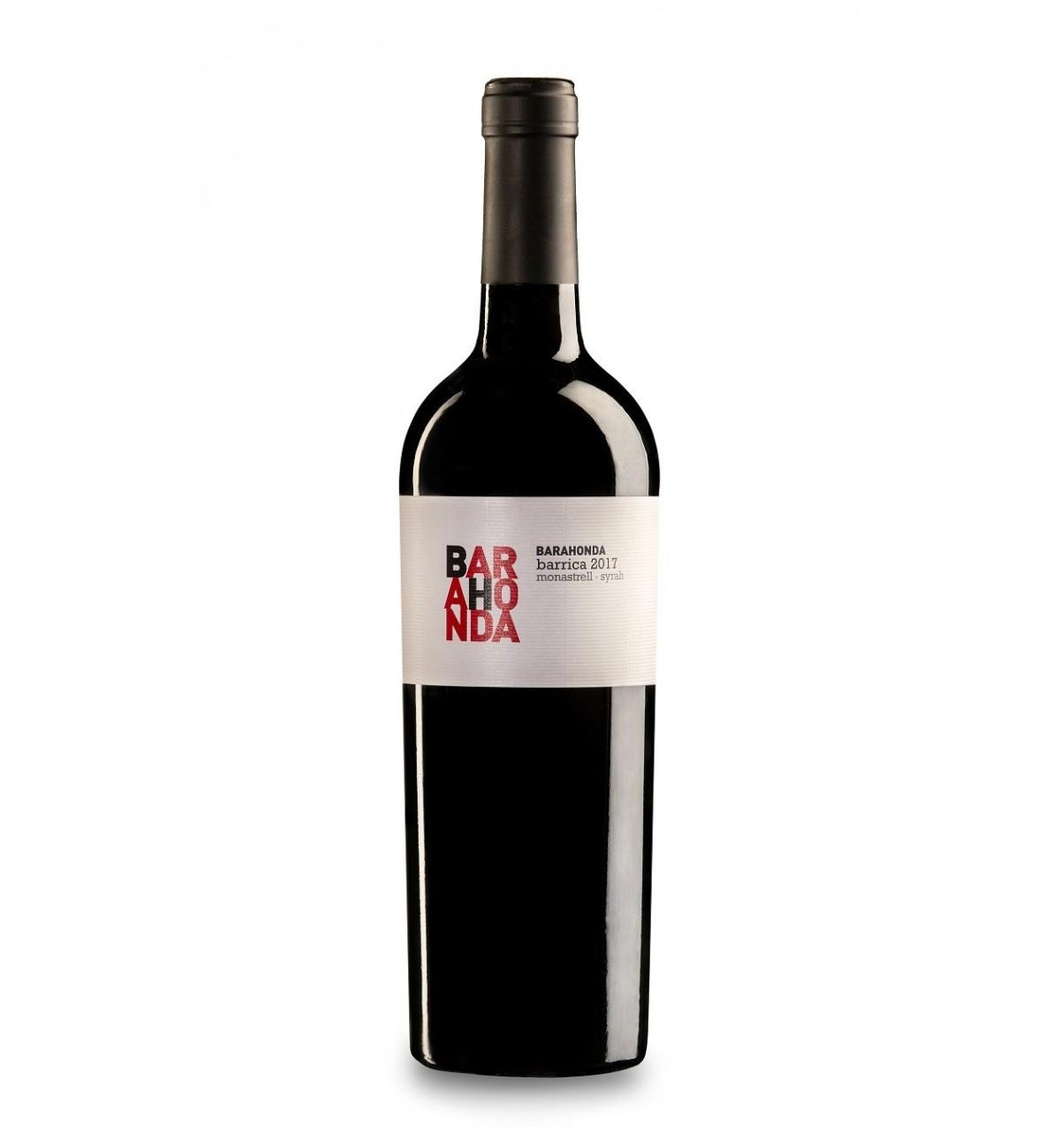 Barahonda Barrica 2017 * Monastrell, Syrah, Yecla, Vino tinto
