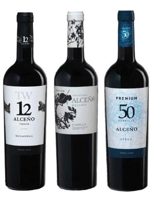 Alceño Pack Wine Experience 01 (3 Botellas) Bodegas Alceño, Jumilla