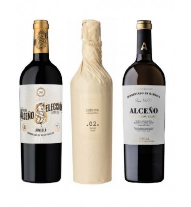 Alceño Pack Wine Experience 02 (3 Botellas) Bodegas Alceño, Jumilla