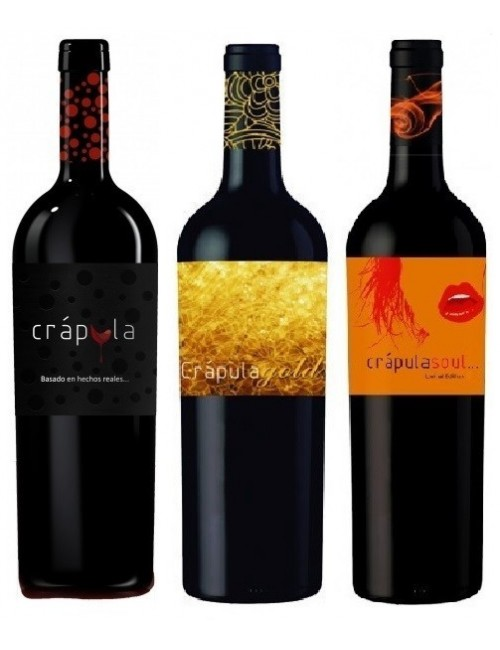 Pack 3 Crápula Wines