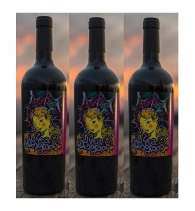 Viña Desgracia 2017 Tempranillo - Pack 3 botellas  (Servicio directo desde la bodega, portes incluidos)