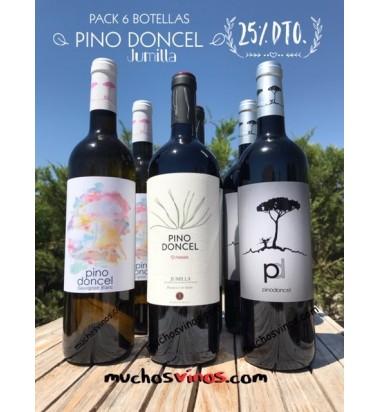 *PACK Pino Doncel, 6 botellas, Bodegas Bleda, Jumilla, Monastrell