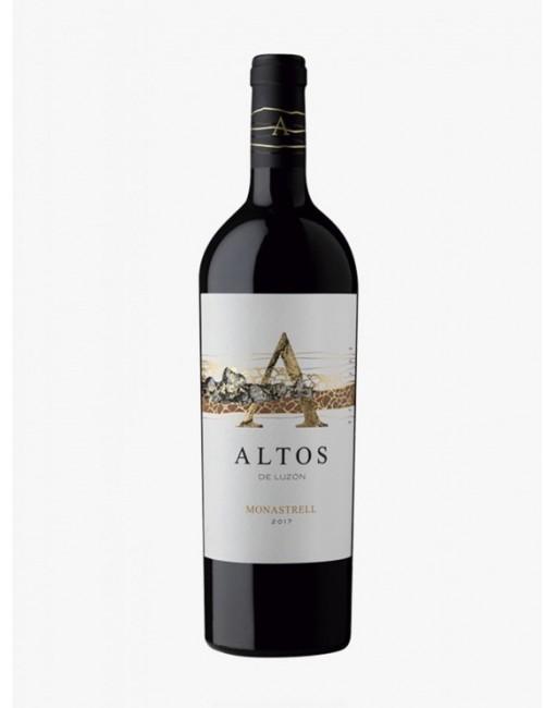 Altos de Luzón 2017 * Vino tinto, Monastrell, Cabernernet Sauvignon, Tempranillo, Jumilla
