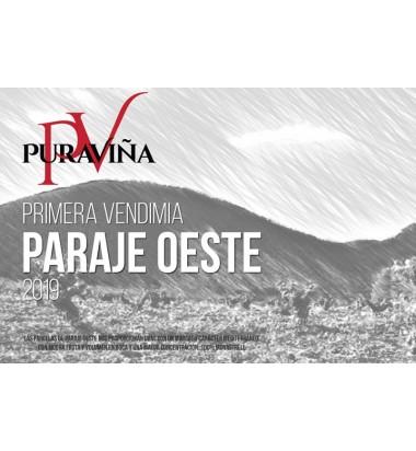 Pura Viña Primera Vendimia Paraje Oeste 2019, Vino tinto, Monastrell