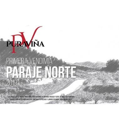 Pura Viña Primera Vendimia Paraje Norte 2019, Vino tinto, Monastrell
