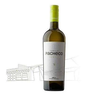 Blanco Familia Pacheco 2019 - Airen, Vino Blanco, Jumilla, Viña Elena