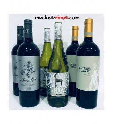Pack GIL FAMILY  by muchosvinos.com,  Juan Gil,  Jumilla, Almansa, Rueda