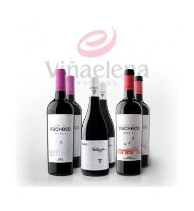 *PACK BLACFRIDAY 6 Vinos Familia Pacheco - Viña Elena, Jumilla