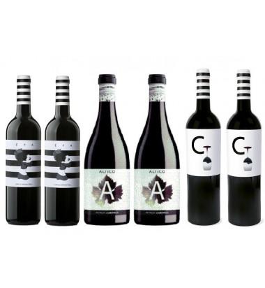 *PACK BLACKFRIDAY 6 Botellas CARCHELO, Monastrell, Syrah,  Jumilla