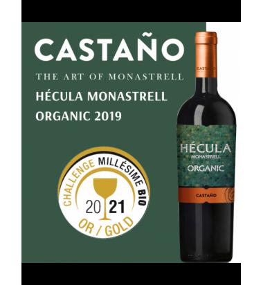 Hécula Ecológico Monastrell 2019 * Vino Tinto Yecla, Bodegas Castaño