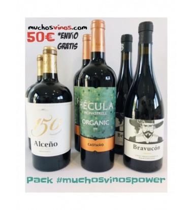 *PACK MuchosVinosPower* 50€ + Envío Gratis en España Peninsular. Jumilla, Yecla, Pequeños Productores