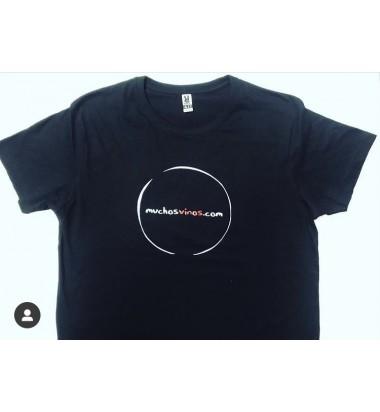 Camiseta unixex muchosvinos.com (Envío GRATIS para todos los pedidos que incluyan una camiseta).