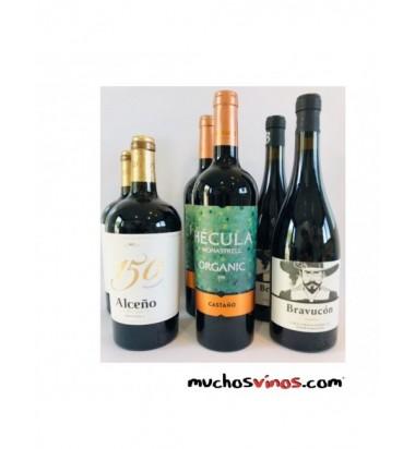 *PACK MuchosVinosPower* 49,99€ Envío Gratis en España Peninsular. Jumilla, Yecla, Pequeños Productores