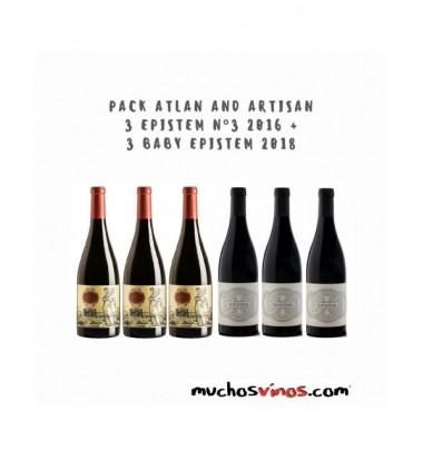PACK Atlan and Artisan 3 Botellas de Epistem nº 3 2015 + 3 Botellas
