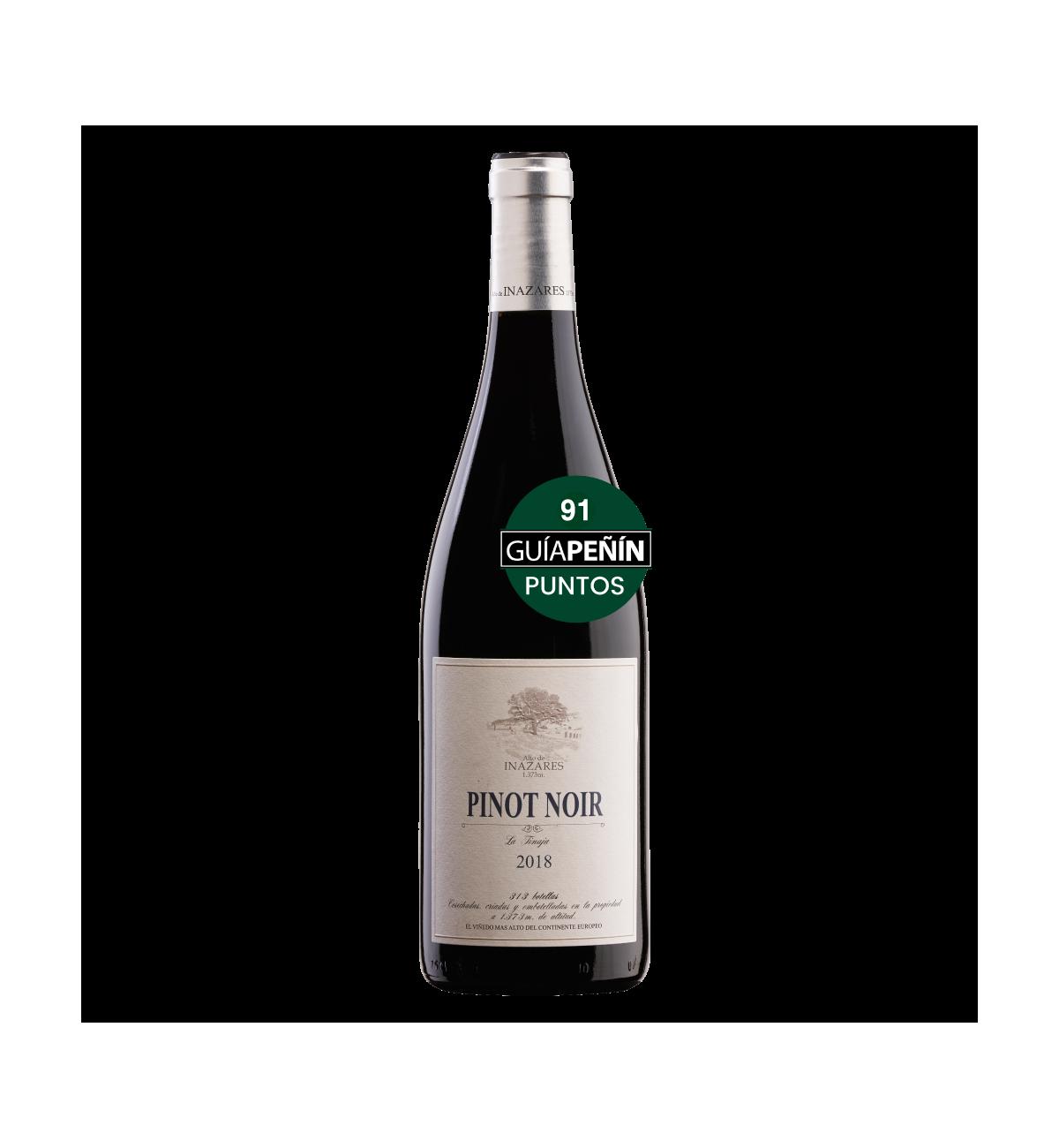 Pinot Noir 2018 * Vino tinto, Alto de Inazares