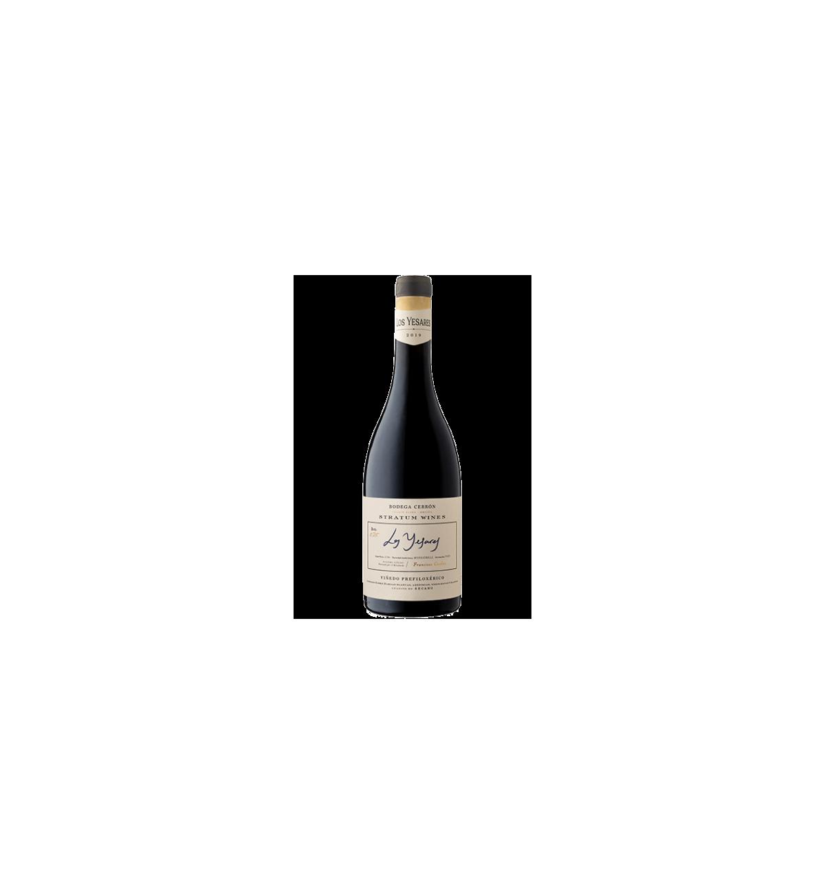 Los Yesares 2019 - Bodega Cerrón - Stratum Wines, Monastrell, Fuente Álamo, DOP Jumilla