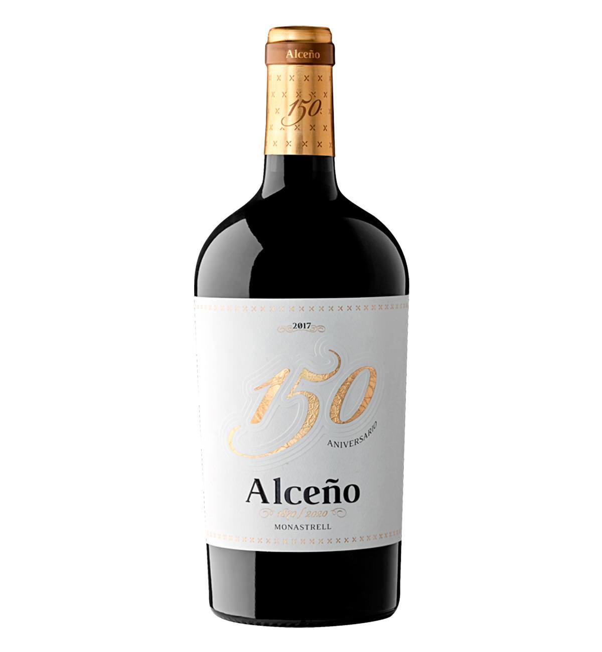 Alceño 150 Aniversario 2017 Monastrell, Vino tinto, Jumilla