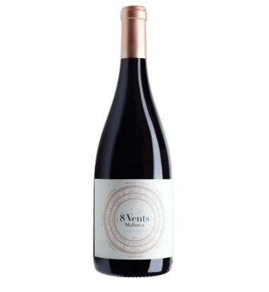 8 Vents 2015 Mallorca - Vino Tinto,  Merlot, Cabernet Sauvignon, Manto negro, Callet