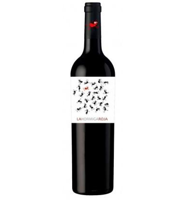 La Hormiga Roja - Vino tinto Roble, 4 meses, Monastrell, Syrah, Tempranillo, Jumilla
