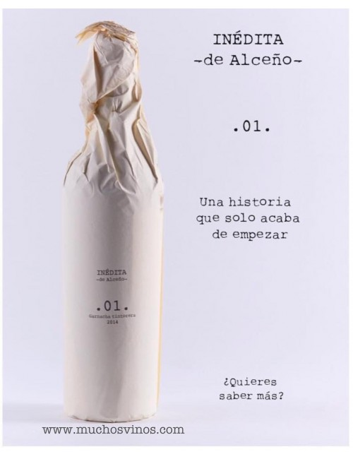 Inédita - de Alceño - 2014, Vino Tinto, Garnacha Tintorera, Jumilla