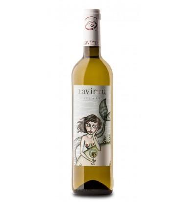 La Virtu del Mar * Vino Blanc, Sauvignon Blanc y Meseguera,Las Virtudes Bodega  D.O. Alicante