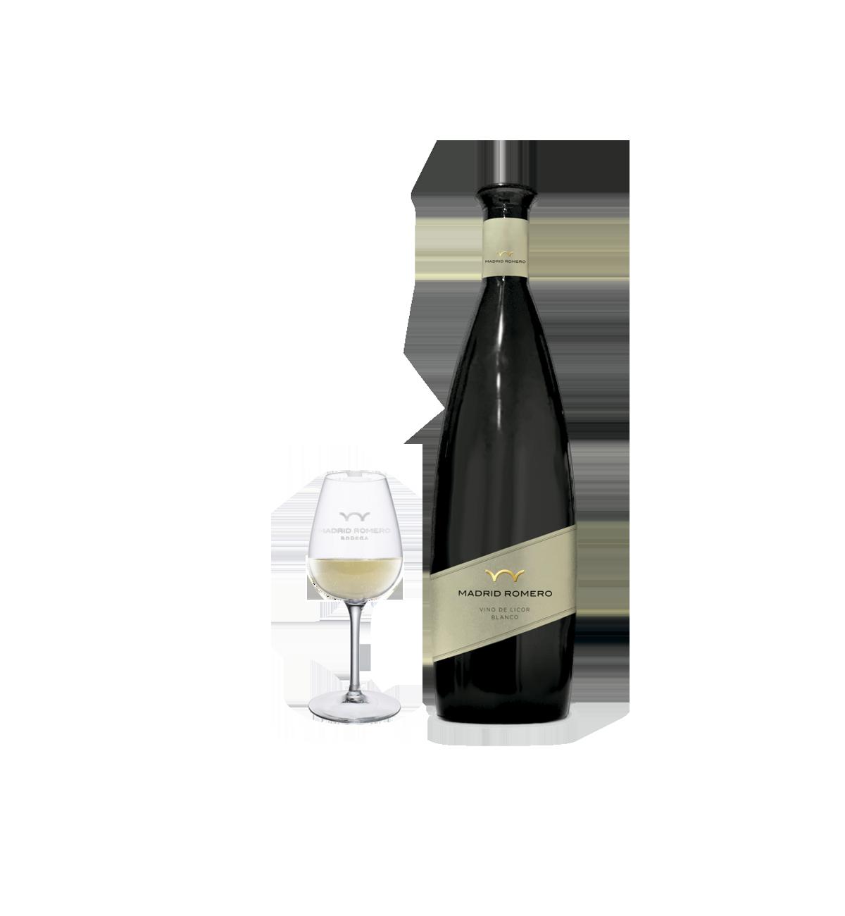 Vino Dulce Blanco Madrid Romero * Moscatel, Vino de Licor,  Jumilla