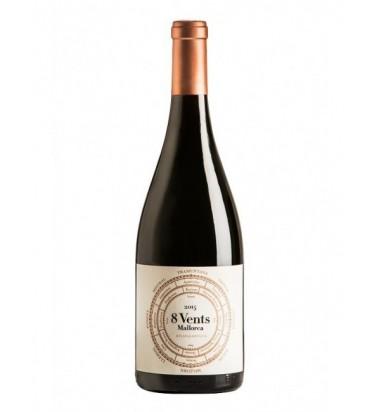 8 Vents 2016 Mallorca - Vino Tinto,  Merlot, Cabernet Sauvignon, Manto negro, Callet