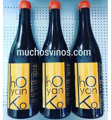Hoyanko 2015 - Vino tinto, Garnacha, Viñas viejas, Cebreros, Ávila