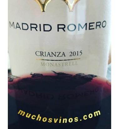 Crianza Madrid Romero Colección Chapó 2015 * Monastrell, Jumilla, Vino Tinto