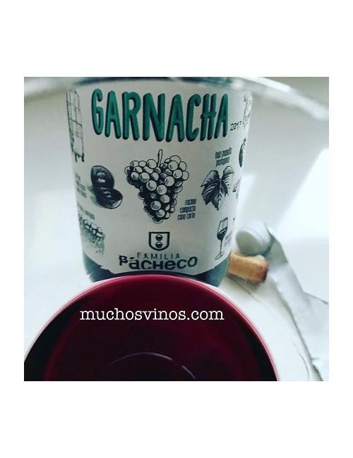 Garnacha Familia Pacheco 2017 - Vino tinto Joven, Jumilla - muchosvinos.com