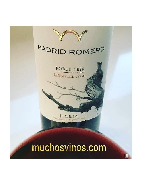Tinto Roble Madrid Romero 2016 * Monastrell, Syrah, Jumilla, Vino Tinto - muchosvinos.com