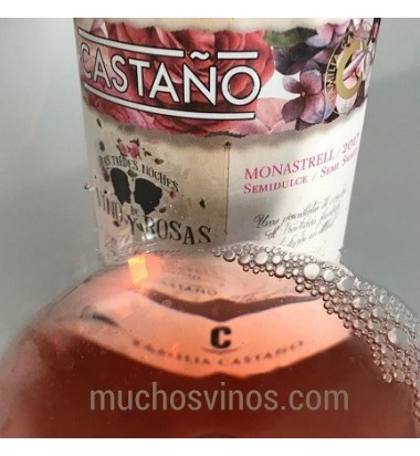 Castaño Rosado Semidulce 2018 * Días, tardes, noches de vino y rosas, Vino Rosé, Yecla, Monastrell