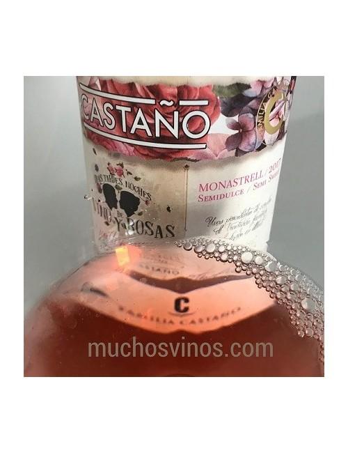 Castaño Rosado Semidulce 2017 * Días, tardes, noches de vino y rosas, Vino Rosé, Yecla, Monastrell - muchosvinos.com