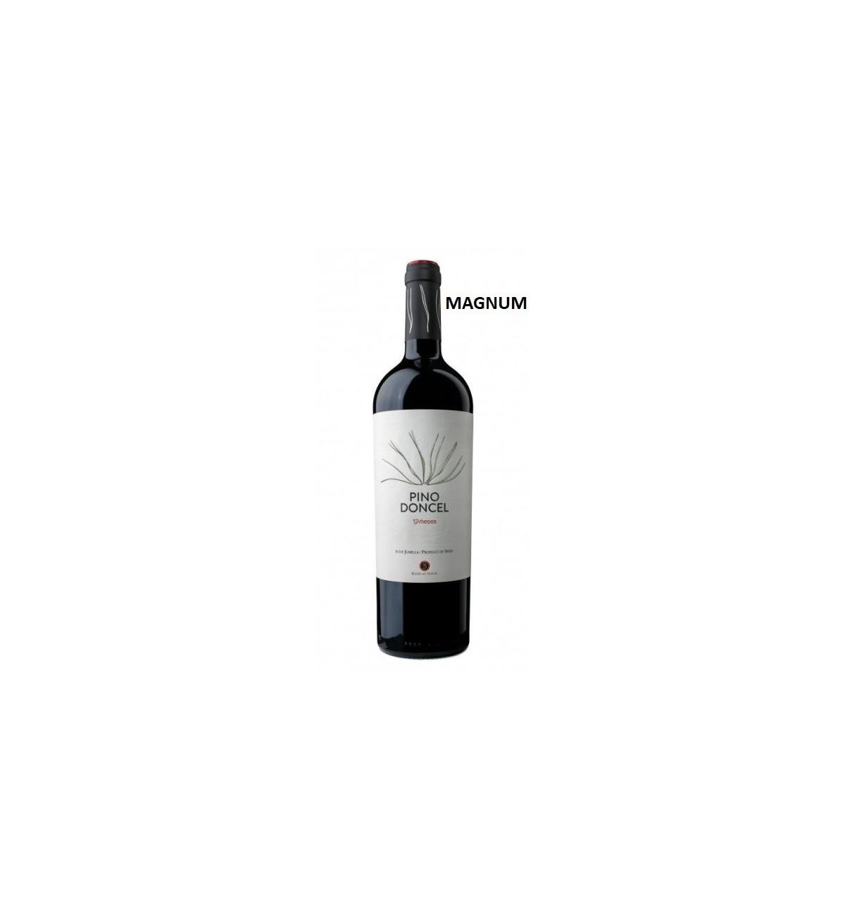 Pino Doncel 12 meses 2016 MAGNUM - Vino Tinto, Jumilla, Monastrell, Syrah