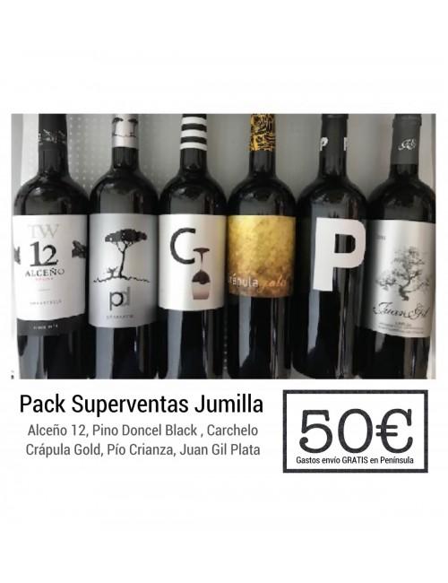 Pack SUPERVENTAS Jumilla + Gastos de envío GRATIS en Península