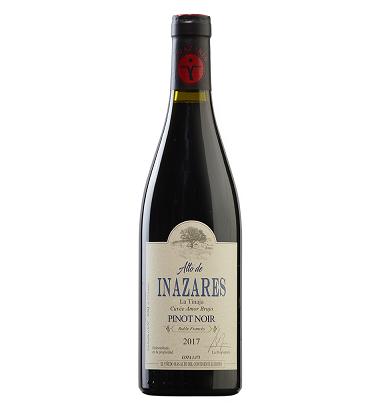 Pinot Noir 2017 * Vino tinto, Alto de Inazares