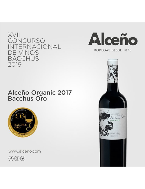 Alceño Organic Ecológico 2017 * Vino Tinto, Jumilla, Monastrell, Syrah, Garnacha