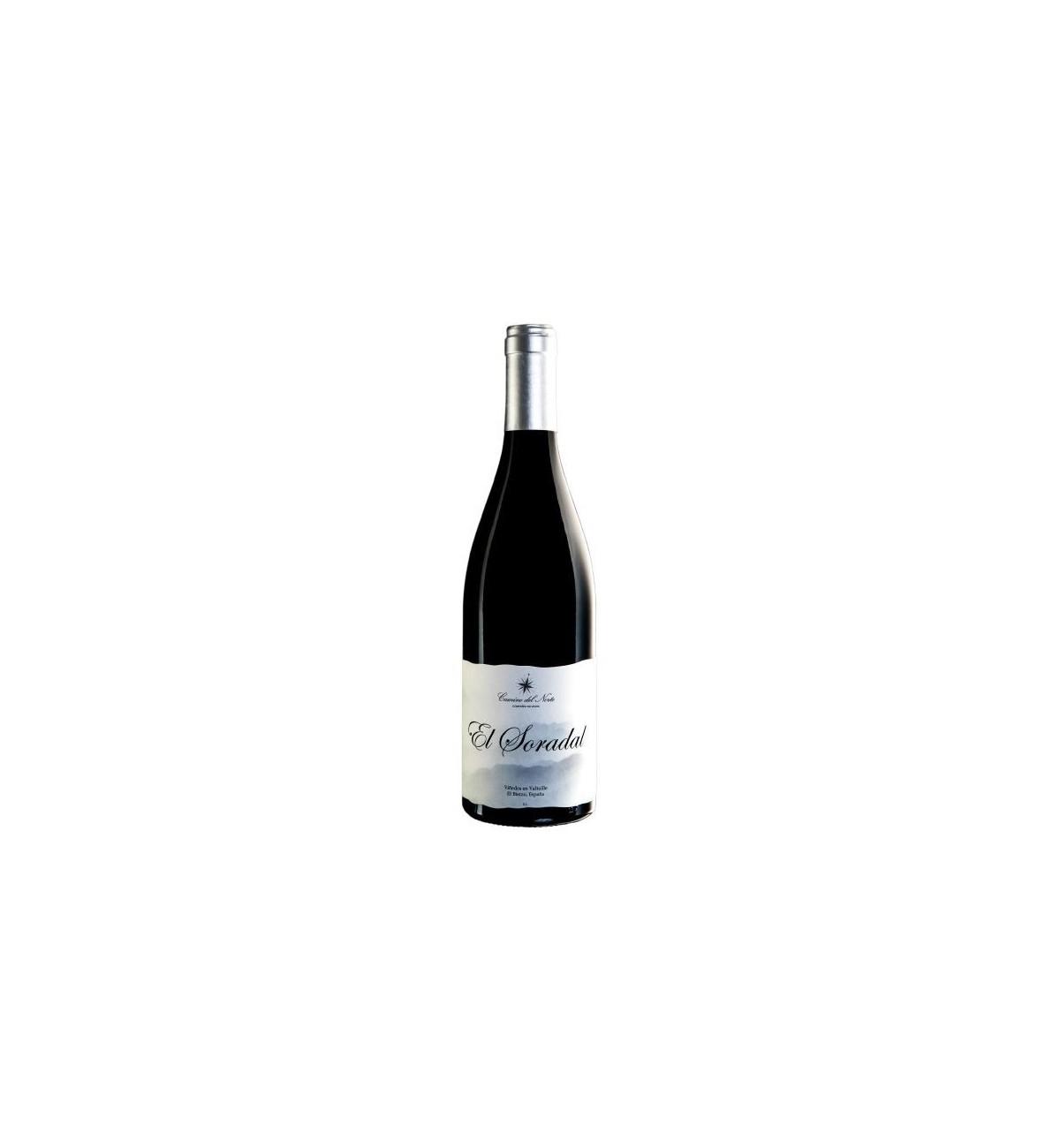 El Soradal 2015 - Camino del Norte - Enólogo Raúl Pérez - Viñedos en Valtuille - El Bierzo - Mencía y Pinot Noir