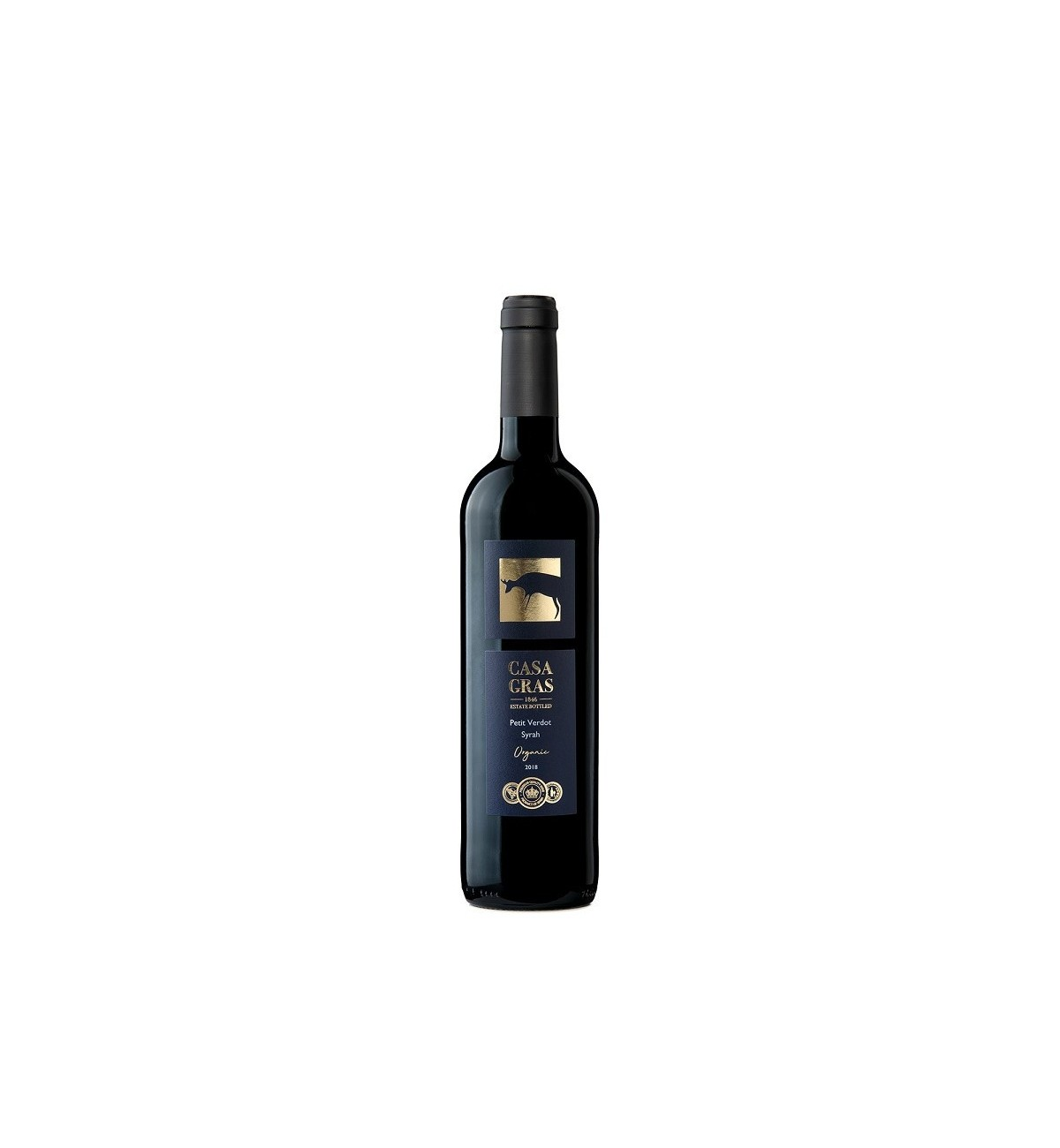 Casa Gras Monastrell Petit Verdot Cabernet Sauvignon 2018 * Yecla, Vino tinto,  ecológico, vegano, Casa de las Especias