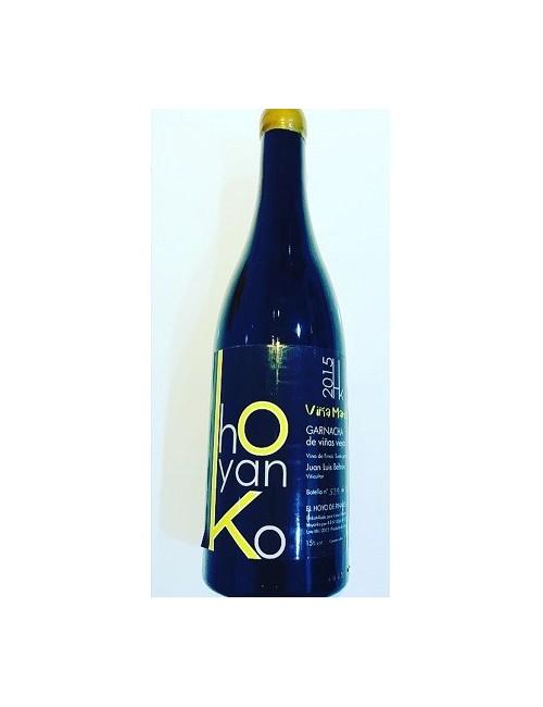Hoyanko Viña Marisa 2015 - Vino tinto, Garnacha, Viñas viejas, Cebreros, Ávila