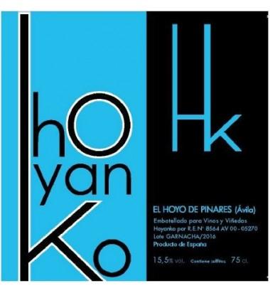 Hoyanko 2016 - Vino tinto, Garnacha, Viñas viejas, Cebreros, Ávila