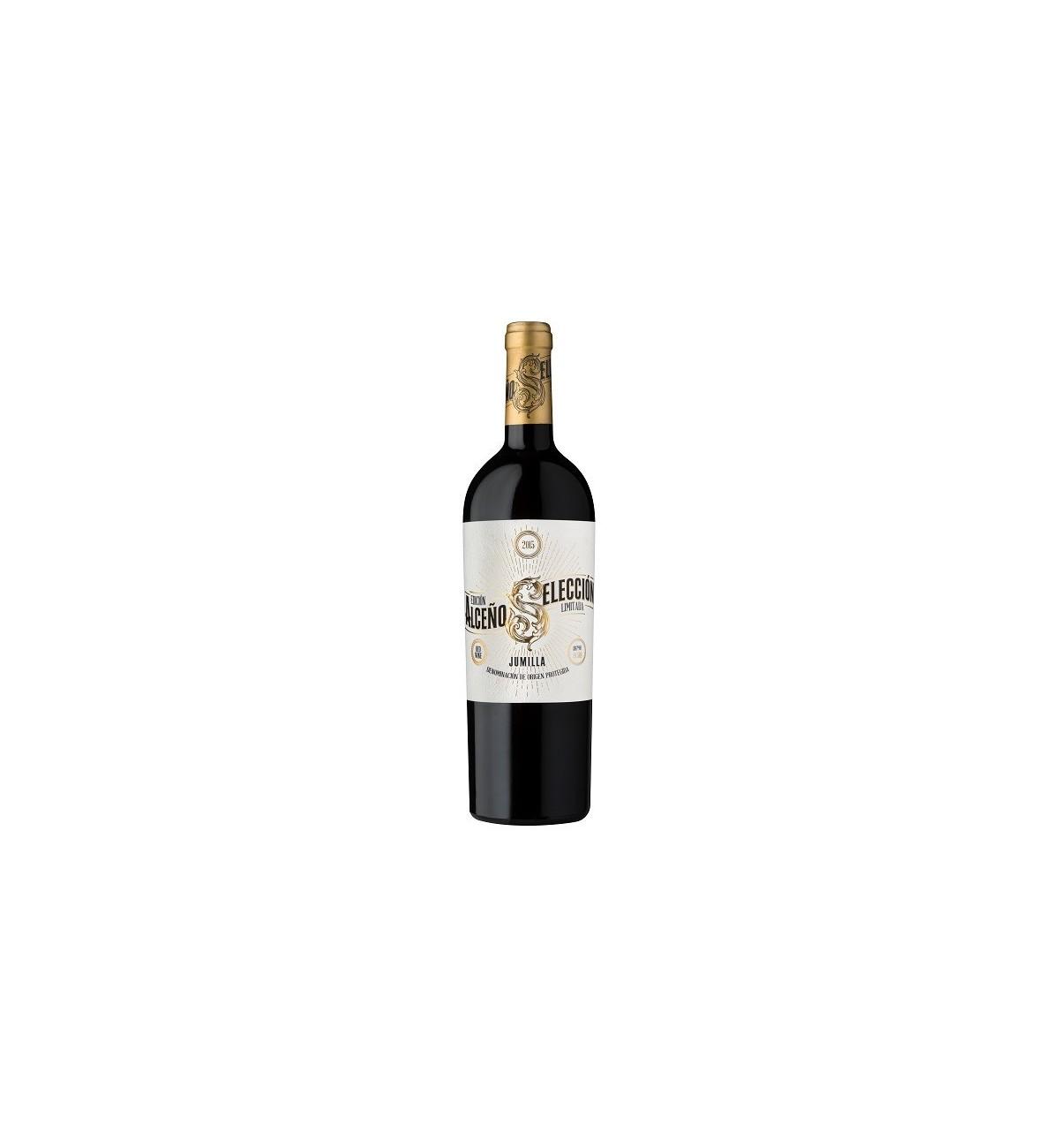 MV301 - Alceño Selección Edición Limitada 2015 Vino Tinto Jumilla, Monastrell, Syrah, Tempranillo, Garnacha Tintorera, MuchosVin