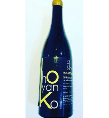 Hoyanko Viña Marisa 2016 - Vino tinto, Garnacha, Viñas viejas, Cebreros, Ávila