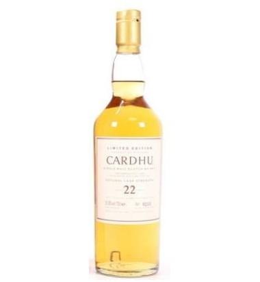Cardhu 22 malta - Whisky