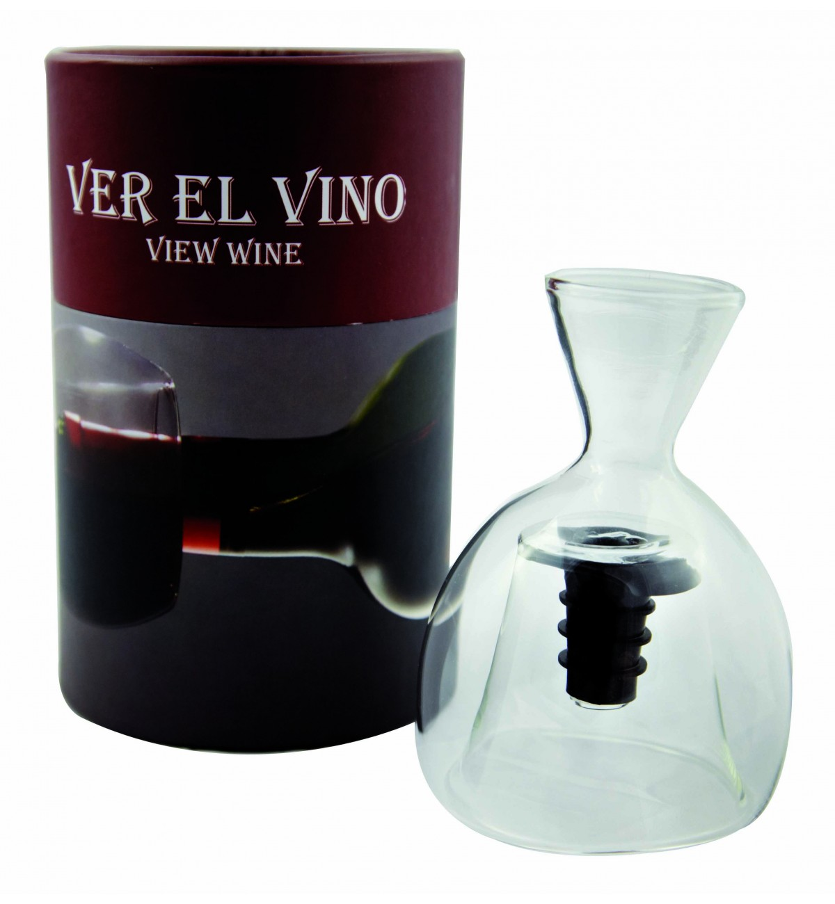 """Decantador de Gollete """"Ver el Vino"""" LUXE"""