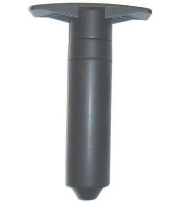 Bomba de vacío ABS con 2 tapones